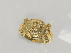 Phoibe in 18k Gold Plated Brass: 7 / 54