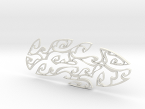 Alpha Realm Gauntlet Flexi Armour Trim in White Strong & Flexible