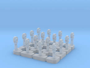 GN Saloon - Vent Sprue  in Smooth Fine Detail Plastic