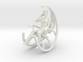 Printle C Femme 800 - 1/24 - wob in White Natural Versatile Plastic