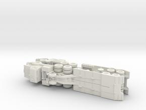 Thornycroft Antar Mk. 2 Tank Transporter 1/160 in White Natural Versatile Plastic