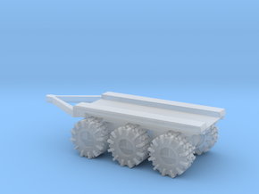 All-Terrain Vehicle 3 axil trailer for modular loa in Smooth Fine Detail Plastic