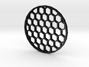 45mm Honeycomb Kill Flash (Stainless Steel) in Matte Black Steel