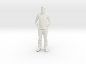 Printle C Homme 050 - 1/24 - wob in White Natural Versatile Plastic