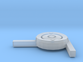 1/48 Uboot Left Compass With Support in Smooth Fine Detail Plastic
