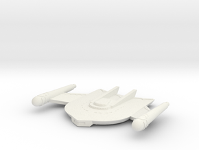 3788 Scale Romulan Falcon Mauler MGL in White Natural Versatile Plastic