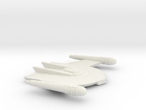 3125 Scale Romulan Falcon Mauler MGL in White Natural Versatile Plastic