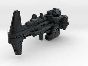 (Armada) Combat Hammerhead Corvette in Black Hi-Def Acrylate