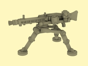 28mm MG42 carriage in Smoothest Fine Detail Plastic