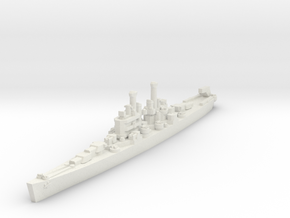 Cleveland class 1/1800 in White Natural Versatile Plastic