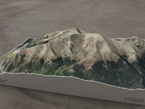 Mt. Elbert, Colorado, USA, 1:50000 in Full Color Sandstone