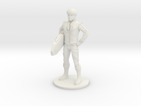 Daniel 27.21mm Tall (Titan Master Scale) in White Natural Versatile Plastic