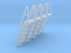 HO Scale Ladder 6 in Smooth Fine Detail Plastic