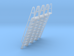 HO Scale Ladder 10 in Smooth Fine Detail Plastic