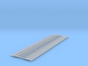 NEM OO Type 31 Couplings - Strait 3 Link x25 in Smooth Fine Detail Plastic