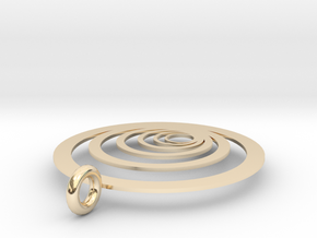 Moon Rings in 14k Gold Plated Brass