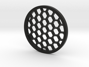40mm kilflash honeycomb in Black Natural Versatile Plastic