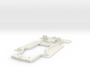 Chassis for Avant Slot Mirage in White Natural Versatile Plastic