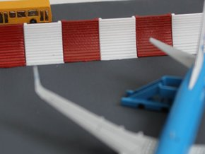 1:400 Blast Fence 12pc in Smooth Fine Detail Plastic