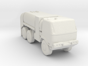 M1091 Fuel Tanker 1:285 scale in White Natural Versatile Plastic