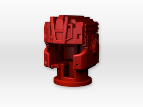 Titans Return Quickswitch helm in Red Strong & Flexible Polished