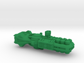 """Space Freighter """"Protector"""" (OEM Class) in Green Processed Versatile Plastic"""