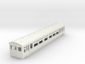 o-148-lner-dr-trailer-1st-coach in White Natural Versatile Plastic