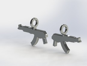 AK KRINKOV DANGLES  (FIT 14 GAUGE JEWELRY) in Stainless Steel
