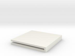 Corner Protectors in White Natural Versatile Plastic
