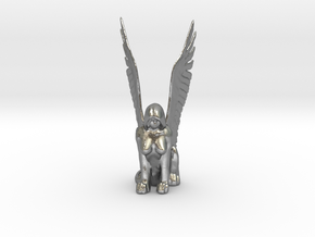 Sphinx in Natural Silver