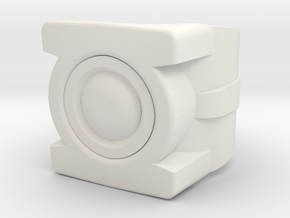Green Lantern's Ring in White Natural Versatile Plastic: 6 / 51.5