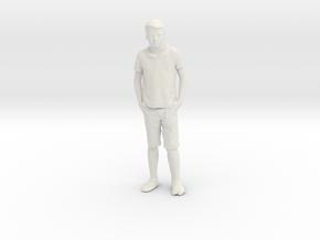 Printle C Kid 021 - 1/32 - wob in White Natural Versatile Plastic