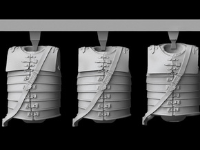 1/25 scale Roman Legionary body armour (3) in Frosted Ultra Detail