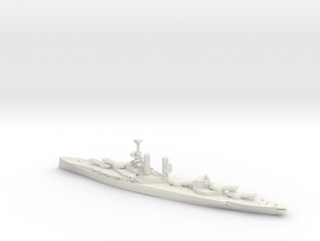HMS iron duke 1/3000 in White Natural Versatile Plastic
