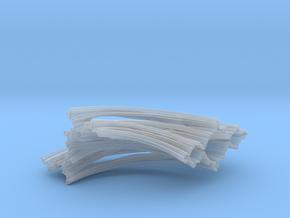 Quarter Unit Circle Julia Sets (0°) in Smooth Fine Detail Plastic