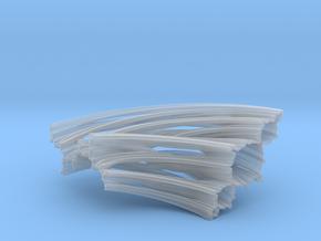 Quarter Unit Circle Julia Sets (135°) in Smooth Fine Detail Plastic