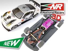 3D Chassis - Ninco Nissan 350Z (Combo) in Black Strong & Flexible