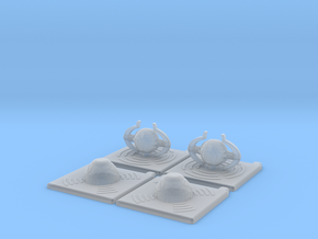 Stargate Space Munitions tokens in Smooth Fine Detail Plastic
