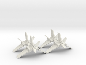 XG-1 Starwing Squadron: 1/270 scale in White Strong & Flexible