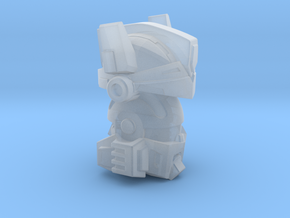 Janus Head in Smooth Fine Detail Plastic: Small