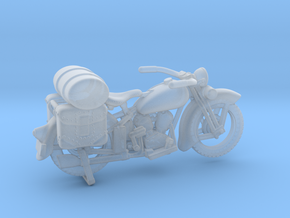 Outlaw Harley Davidson 1:87 HO in Smooth Fine Detail Plastic