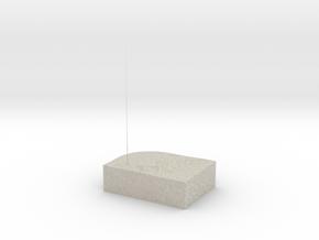 Model of Hamilton in Natural Sandstone
