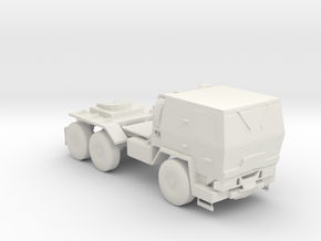 M1088 Up Armored Tractor 1:160 scale in White Natural Versatile Plastic
