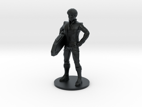 Daniel 27.21mm Tall (Titan Master Scale) in Black Hi-Def Acrylate