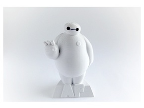 baymax in White Natural Versatile Plastic