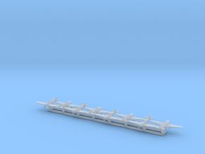 Hurricane w/Gear x8 (FUD) in Smooth Fine Detail Plastic: 1:700