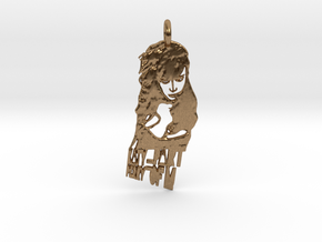 Katy Perry Pendant ((((((Part of Me)))))) in Natural Brass