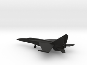 MiG-25PDS Foxbat-E in Black Strong & Flexible: 6mm