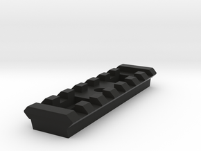 7 Slots Rail for Tripod in Black Natural Versatile Plastic