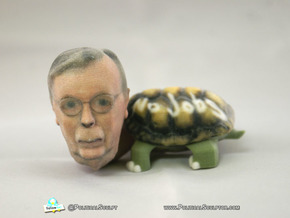 Sen.Mitch McConnell (R-Ky.) Turtle Inaction Figure in Full Color Sandstone
